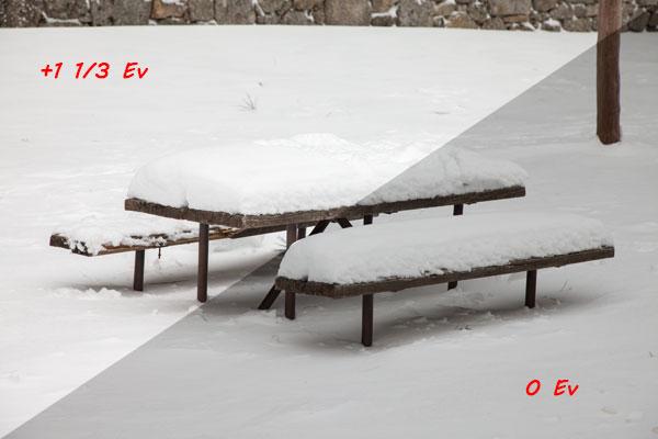 Medición en nieve